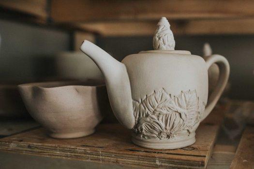 teapotgreenware
